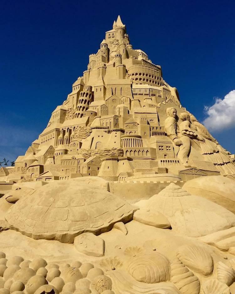 Самый высокий замок из песка, фото 8