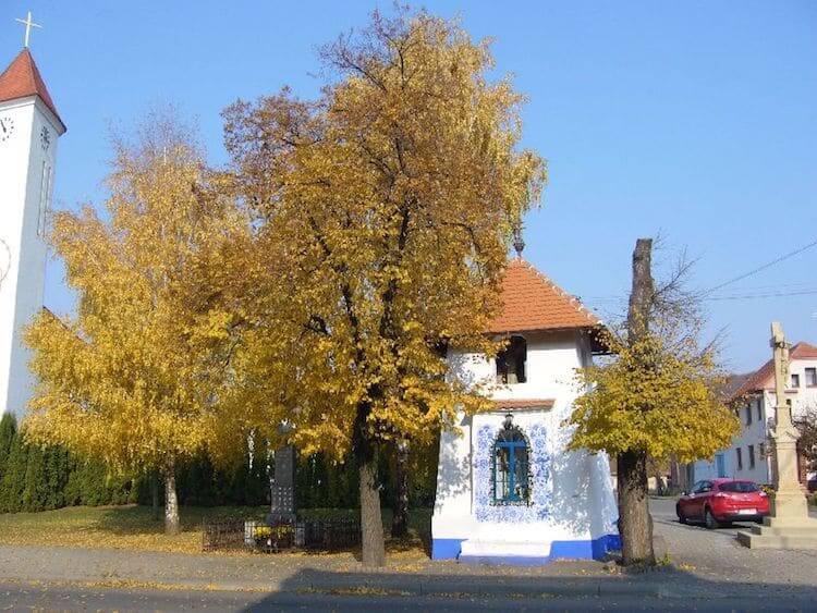 Разрисованый дом в моравском стиле, фото 1