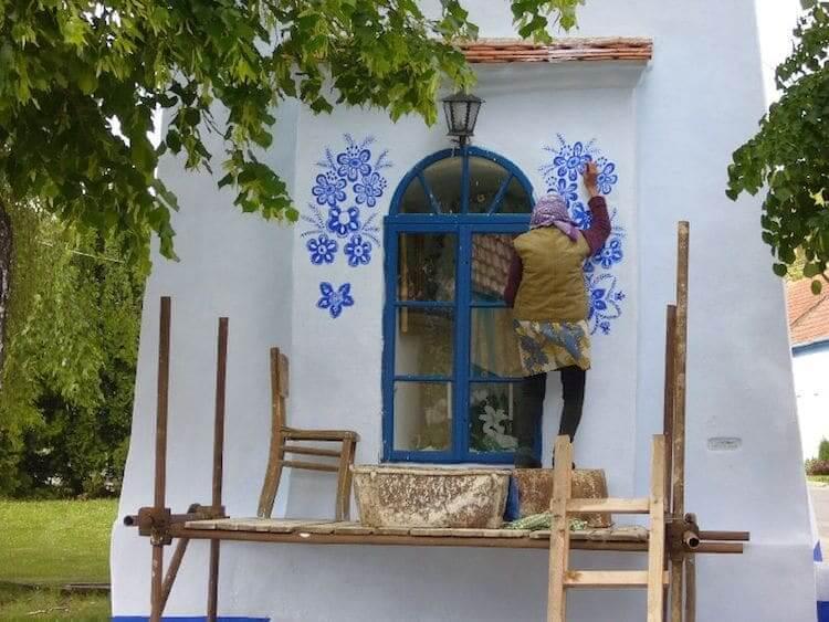 Разрисованый дом в моравском стиле, фото 2