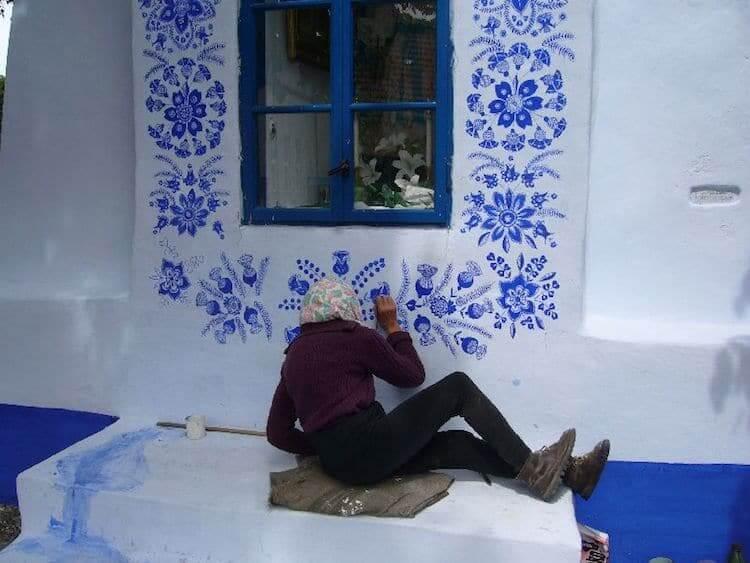 Разрисованый дом в моравском стиле, фото 3