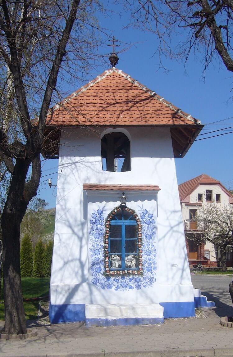 Разрисованый дом в моравском стиле, фото 4