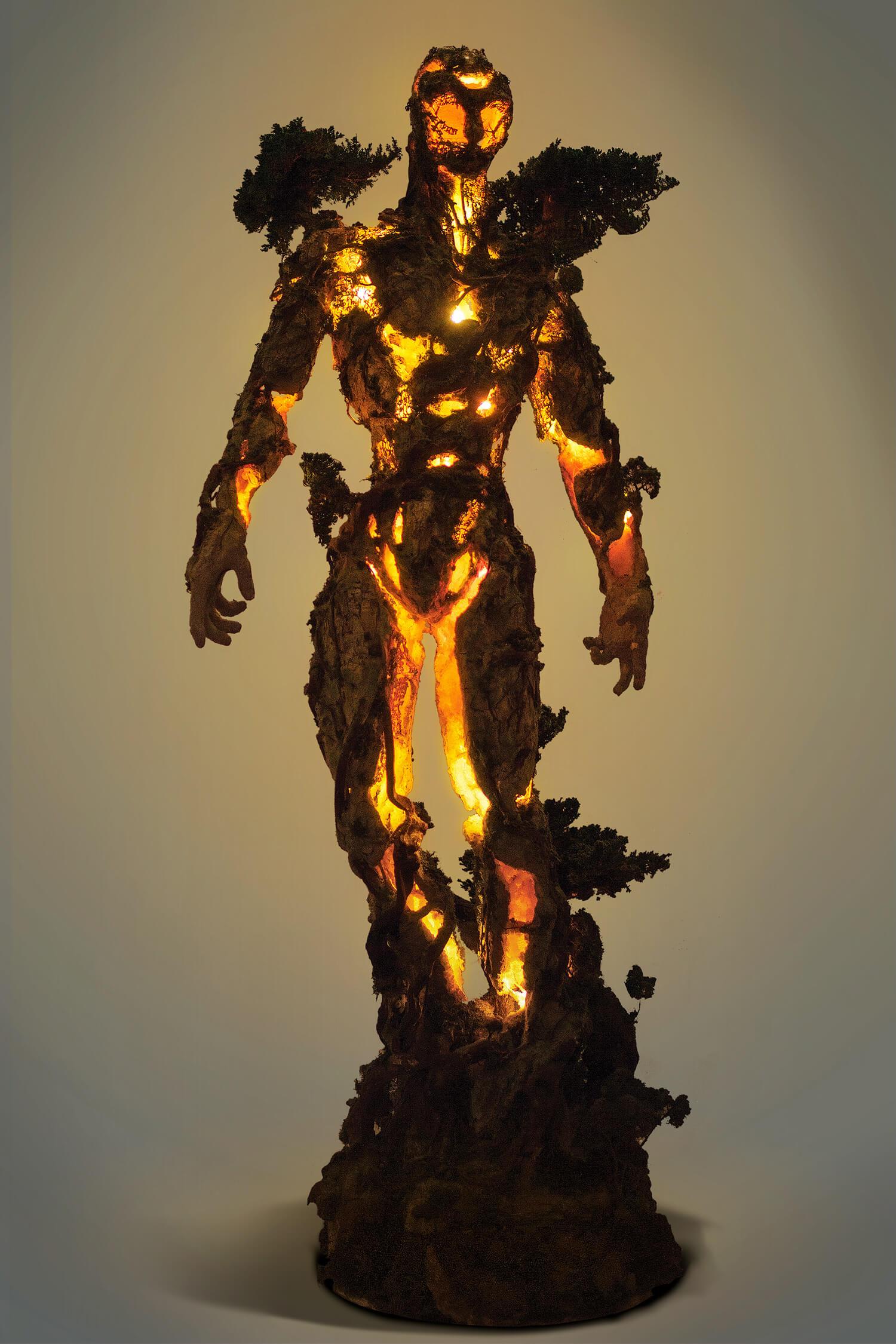 Древовидная фигура, скульптура Гаррета Кейна, фото 1