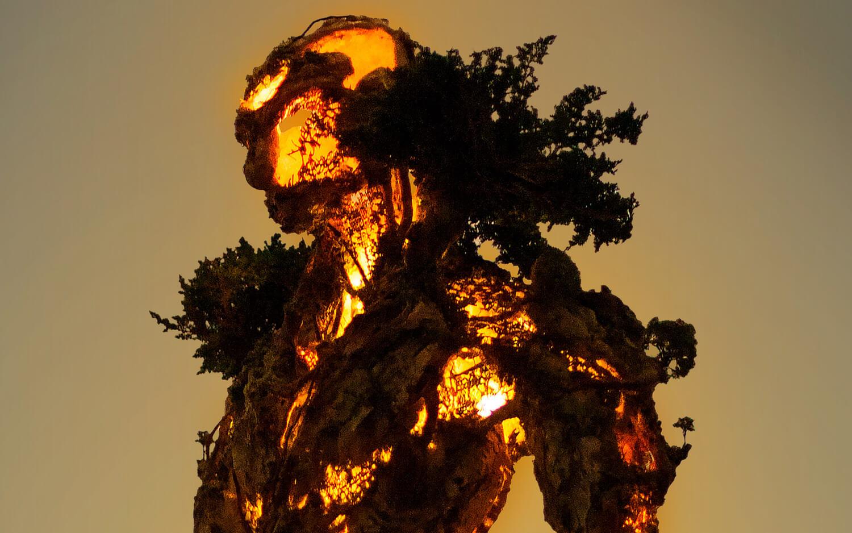 Древовидная фигура, скульптура Гаррета Кейна, фото 2