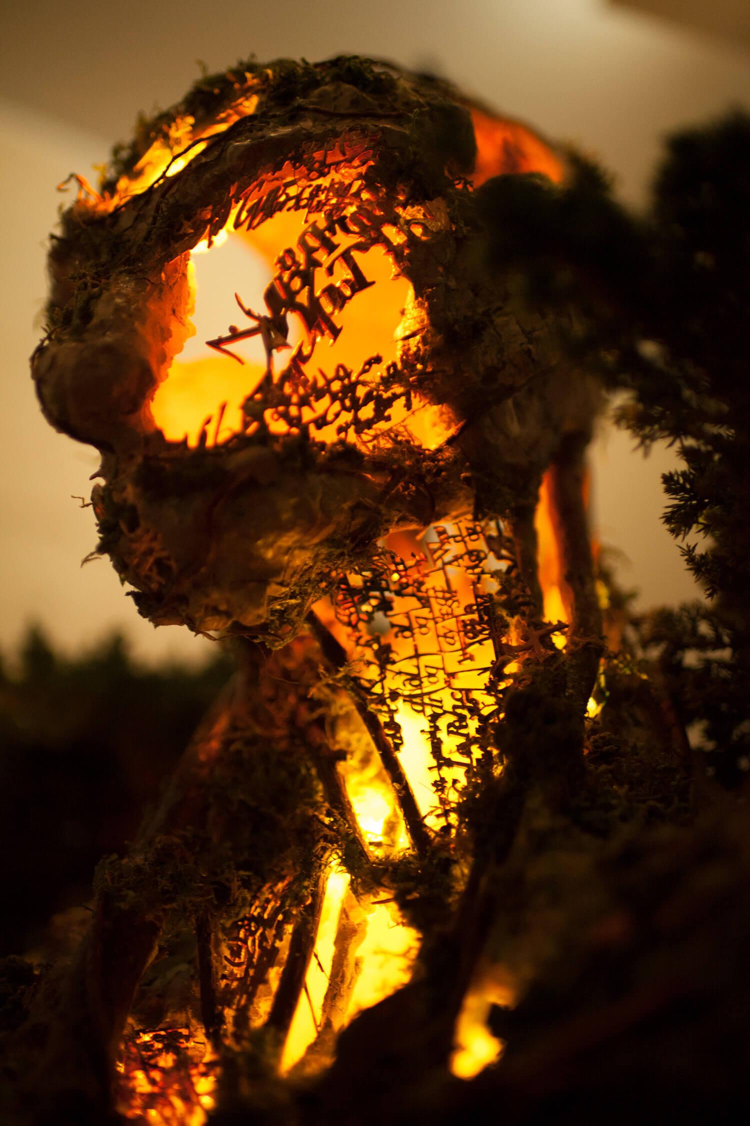 Древовидная фигура, скульптура Гаррета Кейна, фото 3