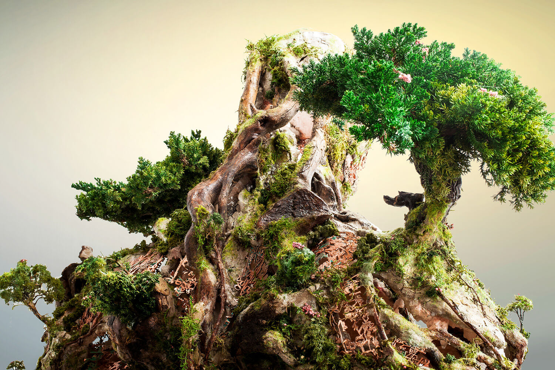 Древовидная фигура, скульптура Гаррета Кейна, фото 5