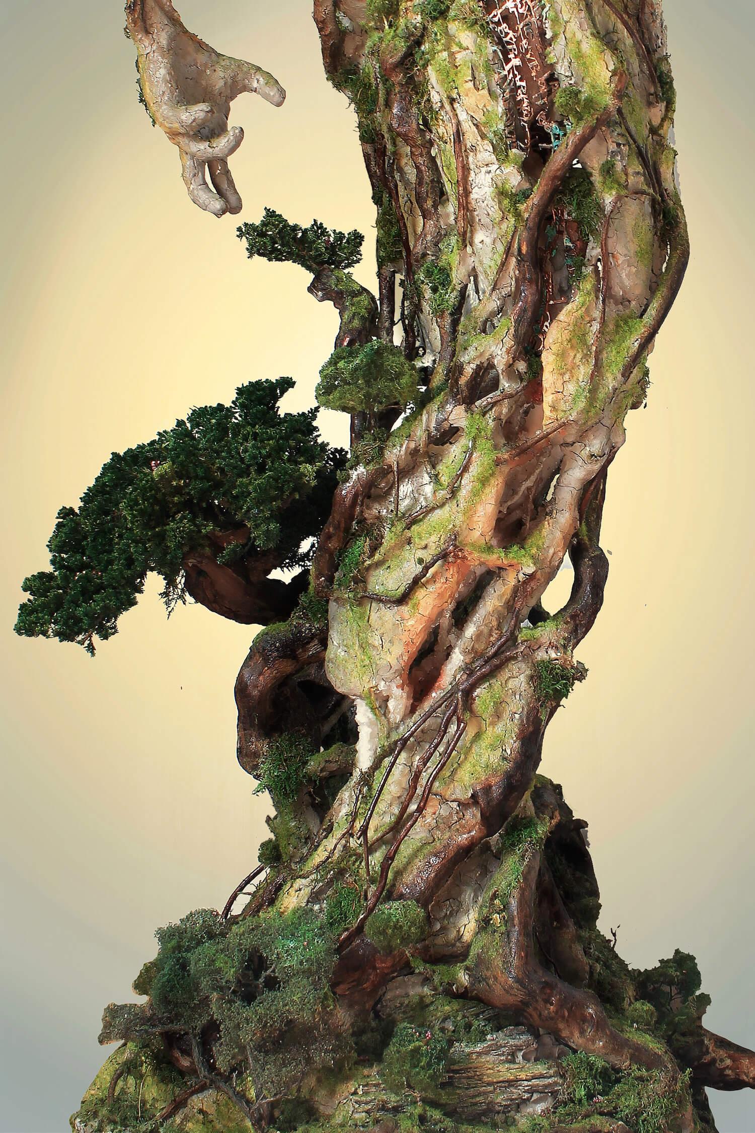 Древовидная фигура, скульптура Гаррета Кейна, фото 6