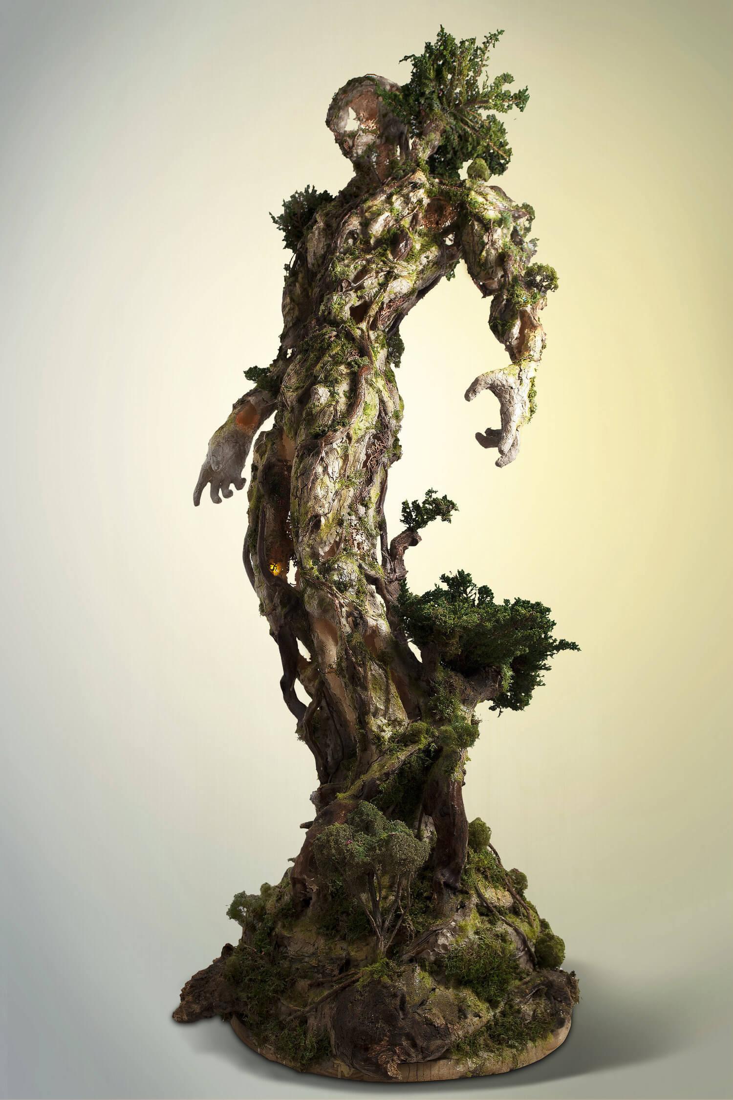 Древовидная фигура, скульптура Гаррета Кейна, фото 7