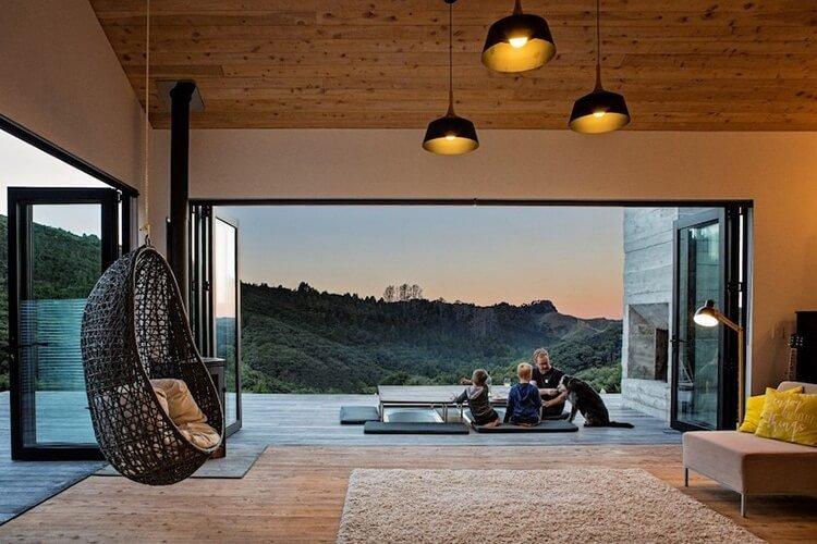 Современный дом в Новой Зелендии, фото 7