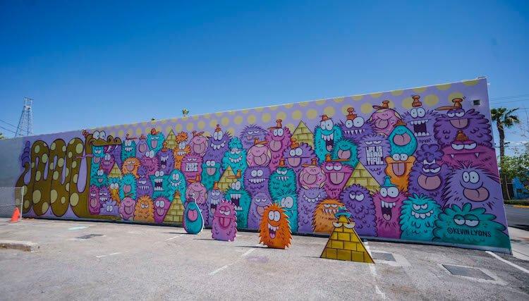 Лас-Вегас, уличное искусство от 12 художников, фото 12