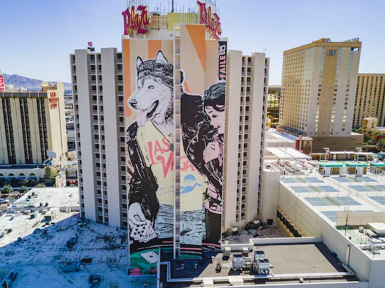 Лас-Вегас, уличное искусство от 12 художников, фото 14