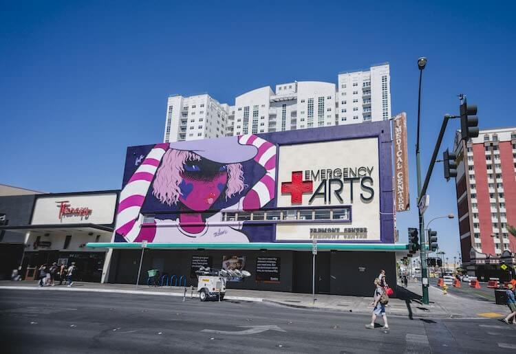 Лас-Вегас, уличное искусство от 12 художников, фото 15