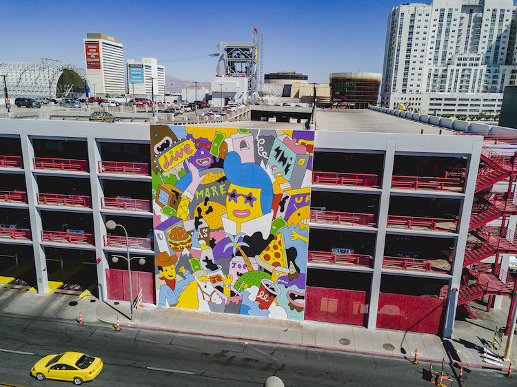 Лас-Вегас, уличное искусство от 12 художников, фото 16