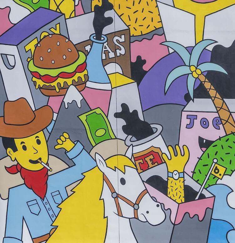 Лас-Вегас, уличное искусство от 12 художников, фото 173