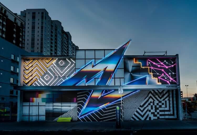 Лас-Вегас, уличное искусство от 12 художников, фото 4