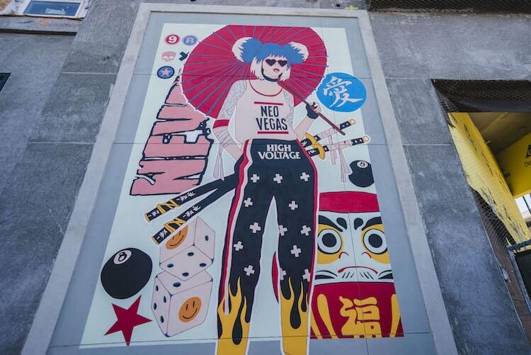 Лас-Вегас, уличное искусство от 12 художников, фото 9