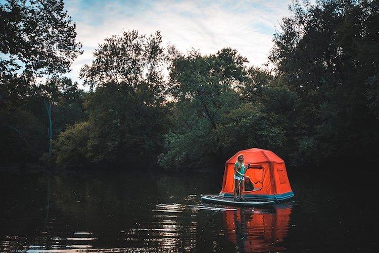 Плавучая палатка, фото 6