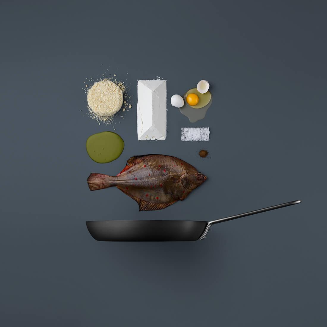 Рецепты из компонентов еды, Стильные фото 3