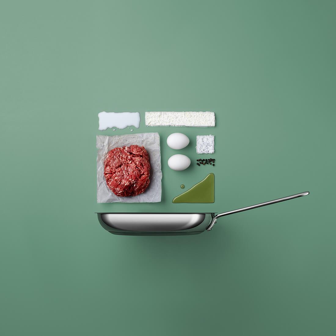 Рецепты из компонентов еды, Стильные фото 4