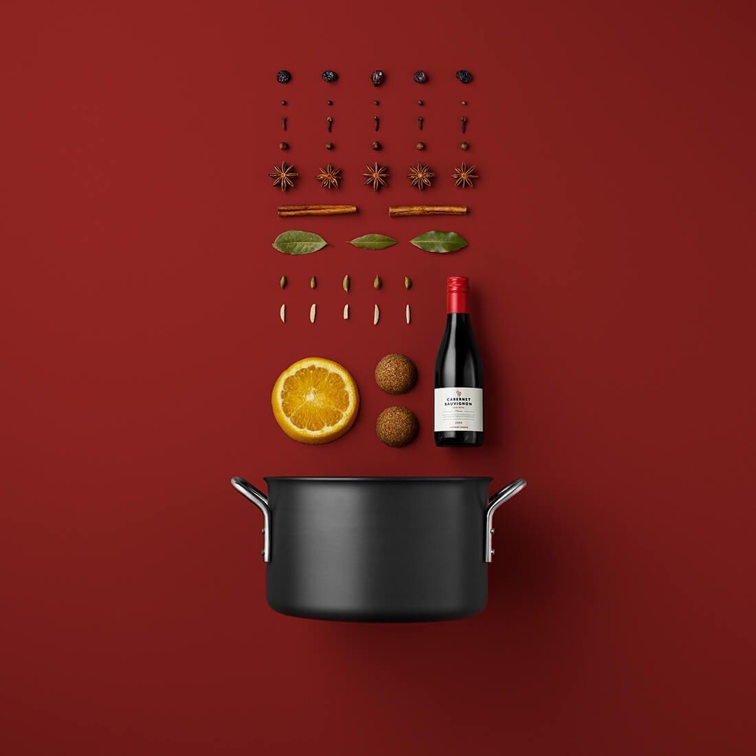 Рецепты из компонентов еды, Стильные фото 5