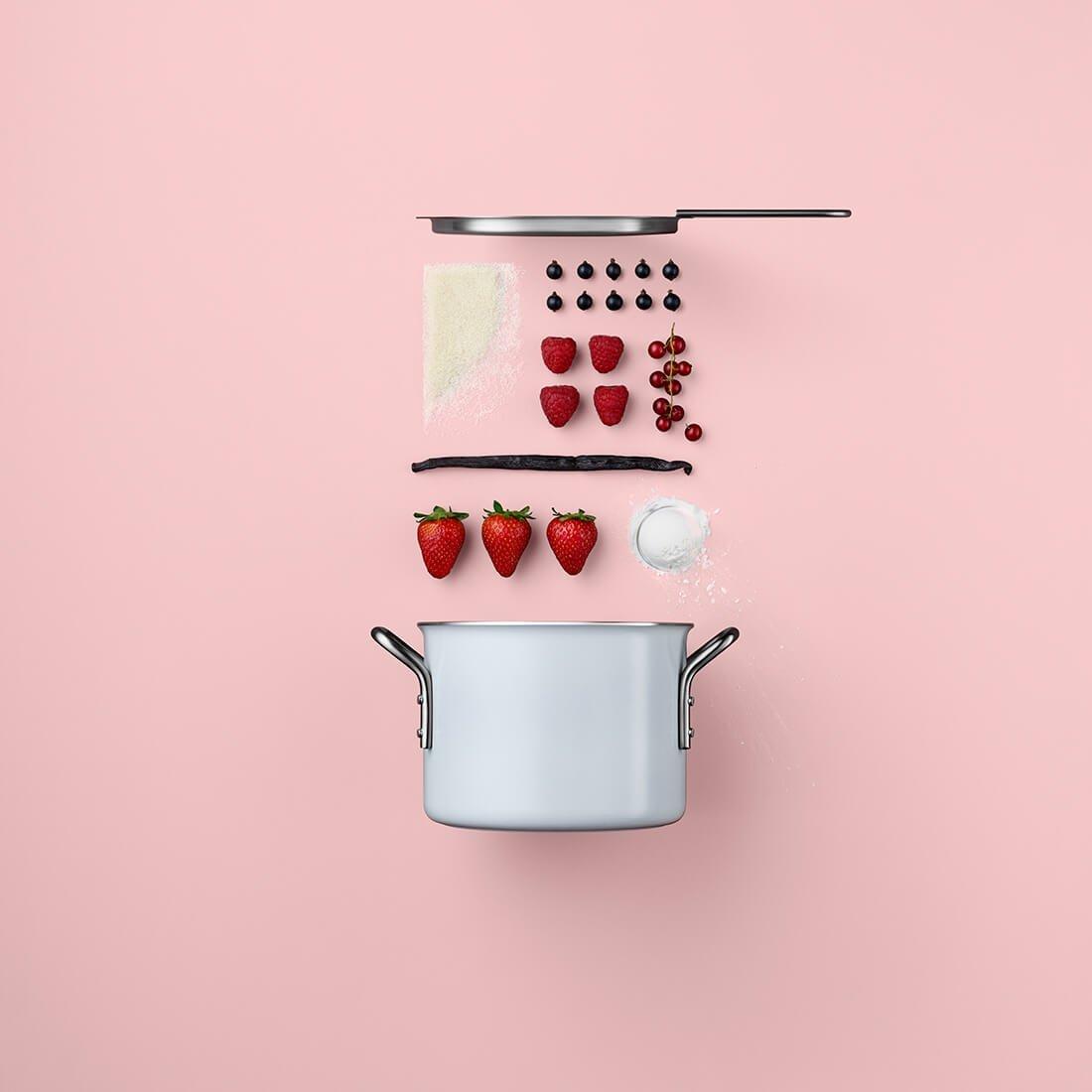 Рецепты из компонентов еды, Стильные фото 8