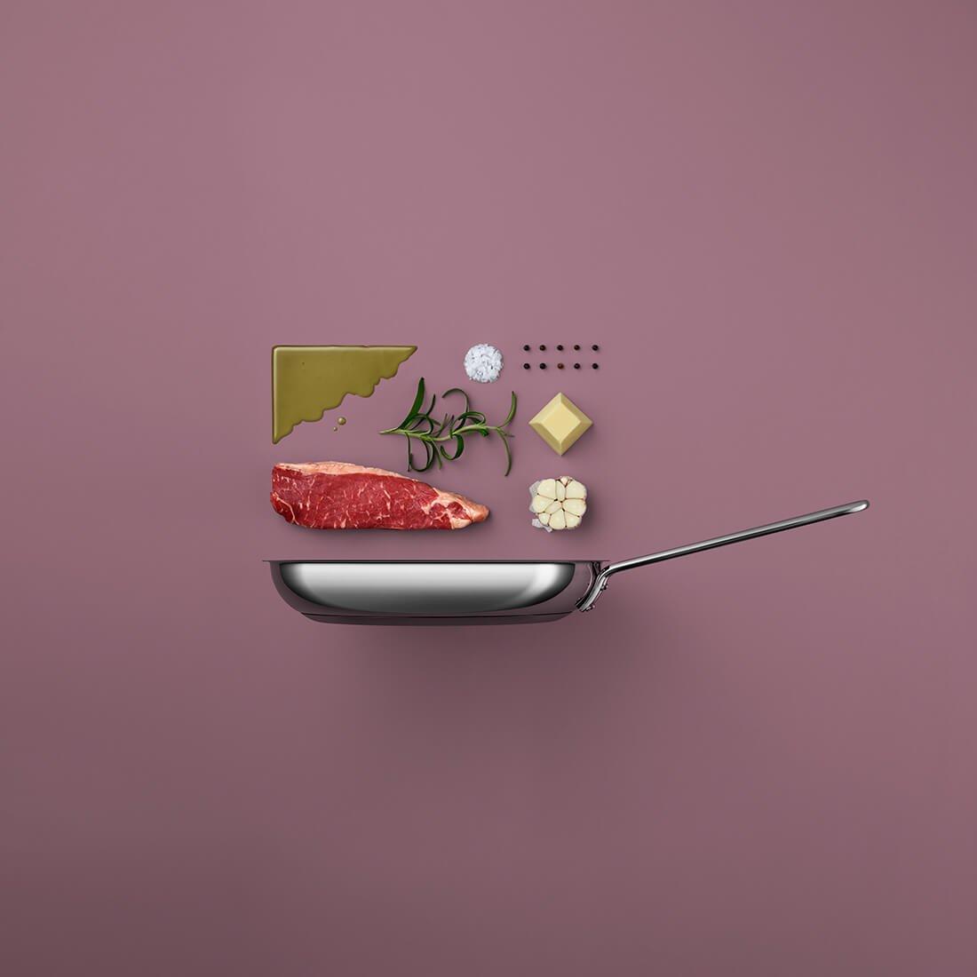 Рецепты из компонентов еды, Стильные фото 9