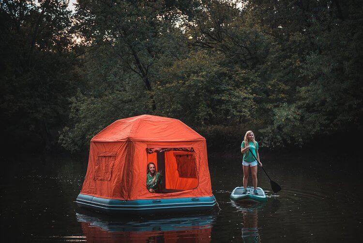 Плавучая палатка, фото 3