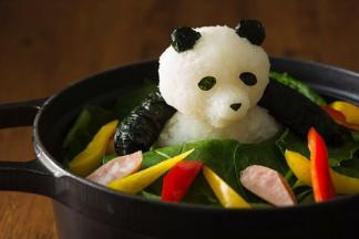 Японский художник превращает редис дайкон в восхитительные пищевые скульптуры