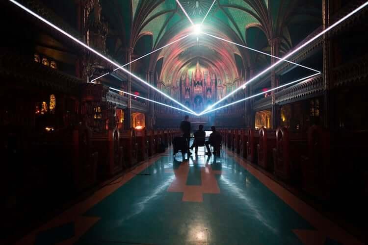 Мультимедийная инсталляция в Базилике Нотр-Дам, фото 9