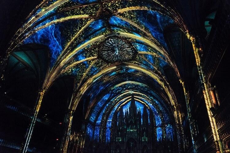 Мультимедийная инсталляция в Базилике Нотр-Дам, фото 2
