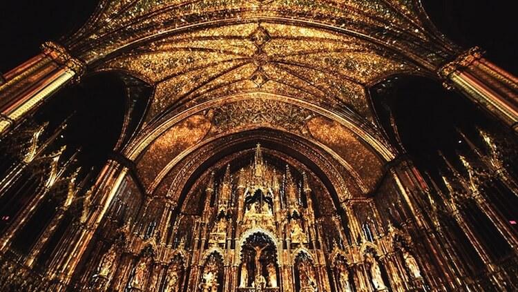 Мультимедийная инсталляция в Базилике Нотр-Дам, фото 3