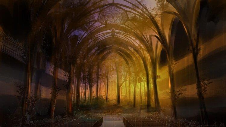 Мультимедийная инсталляция в Базилике Нотр-Дам, фото 6