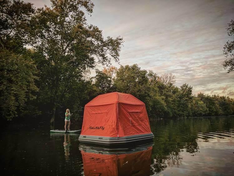 Плавучая палатка, фото 7