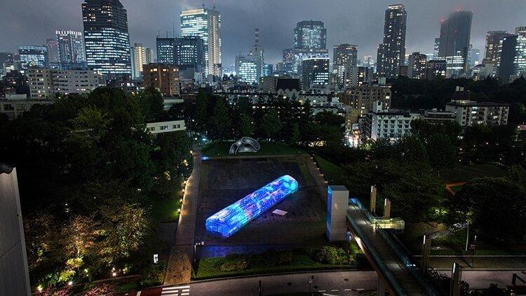 Мультимедийная инсталляция в Токио, фото 3