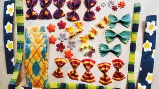 Разноцветная паста, фото 5