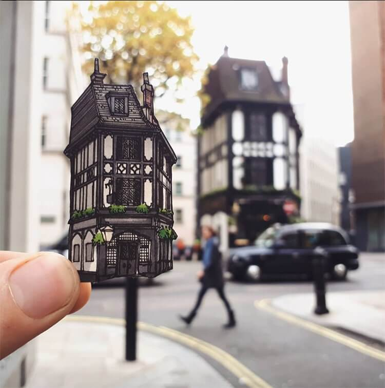 Скетчи Лондона, фото 8