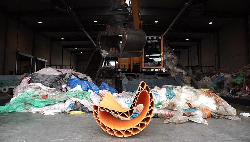 Скамейка из переработаного пластика, фото 4