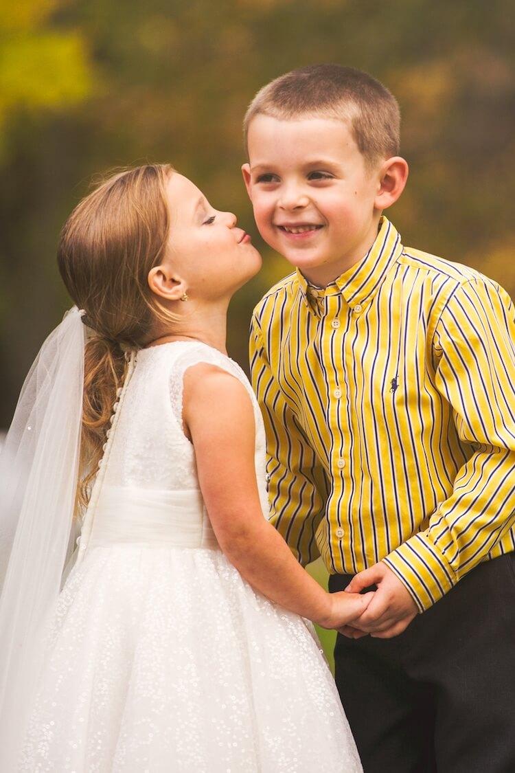 Свадебная фотосессия 5 летней девочки, фото 2