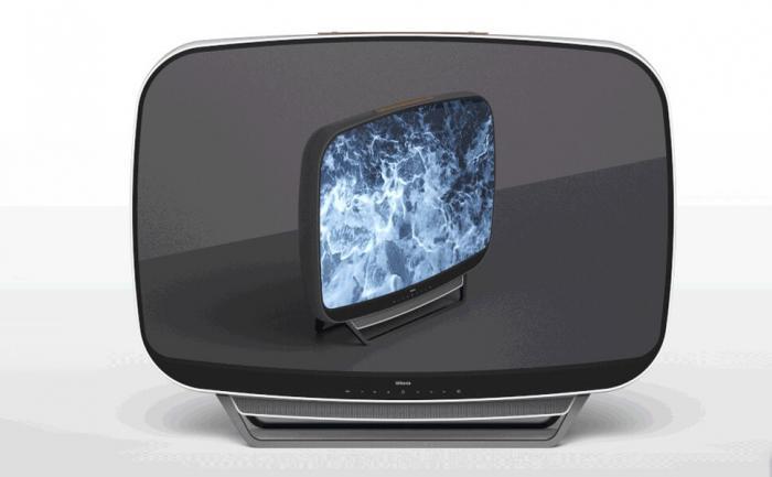 Ретро-модель телевизора окунет покупателей в эстетику эры покорения космоса