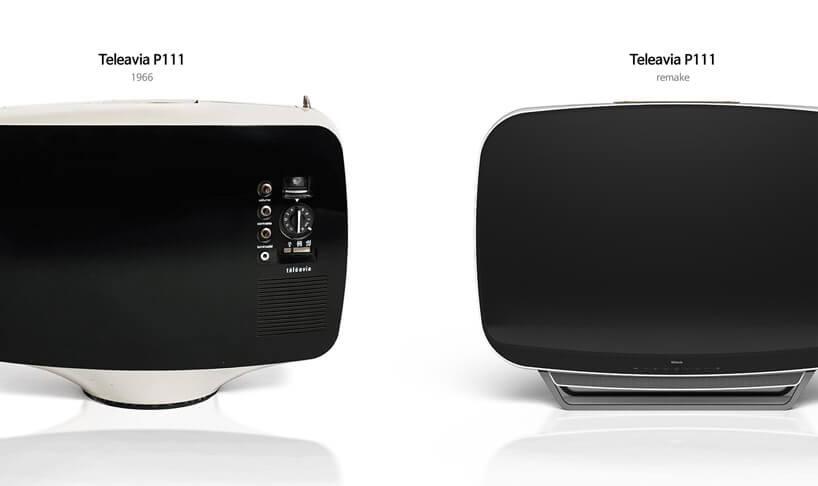 Корейская дизайн-студия PDF Haus переосмыслила ретро-модель телевизора Teleavia P111