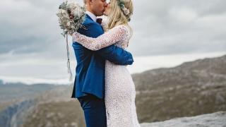 Свадебная фотосессия на Языке Тролля, фото 9