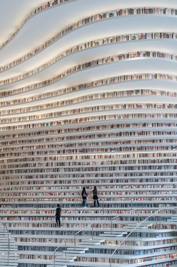 Библиотека Тяньцзинь Биньхай, фото 9