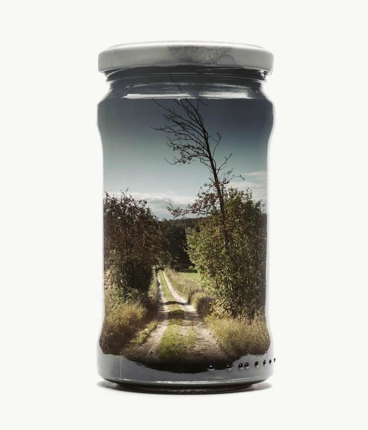 Фотографии природы в стекляных банках, фото 1
