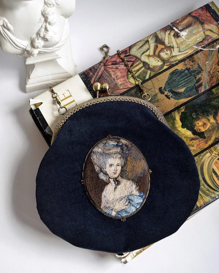 Вышитые портреты эпохи Возрождения, фото 11