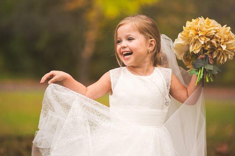 Свадебная фотосессия 5 летней девочки, фото 8