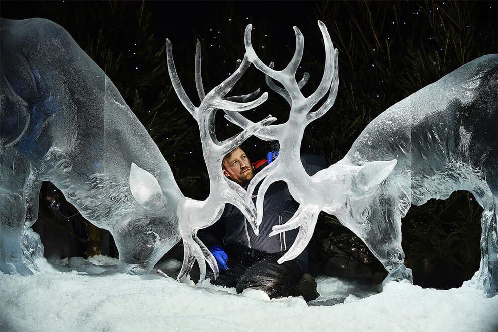 ледяные скульптуры, фото 1