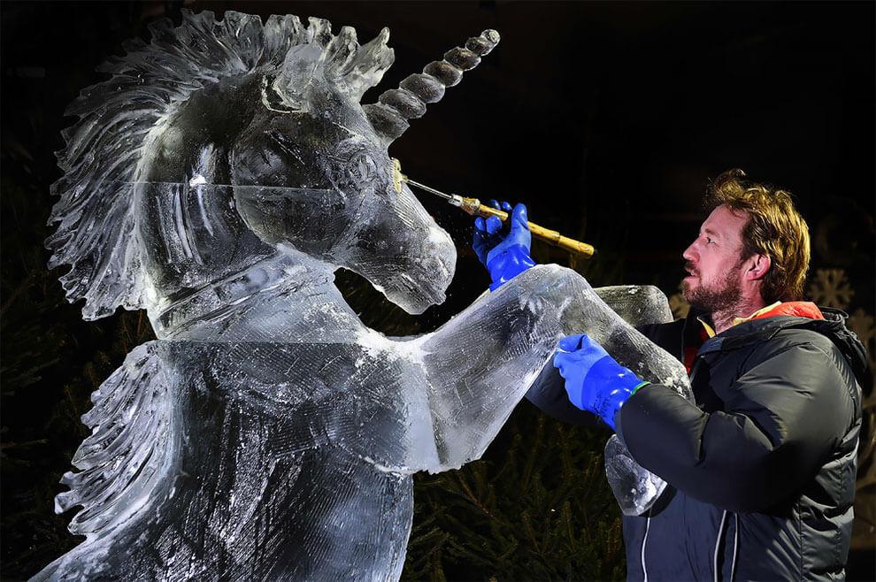 ледяные скульптуры, фото 2