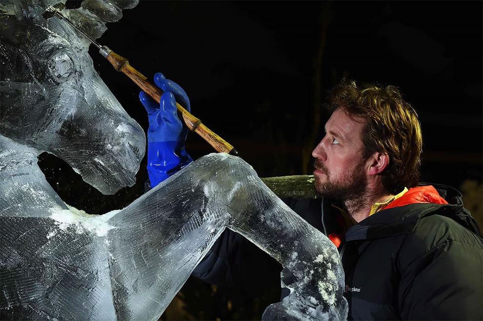 ледяные скульптуры, фото 3