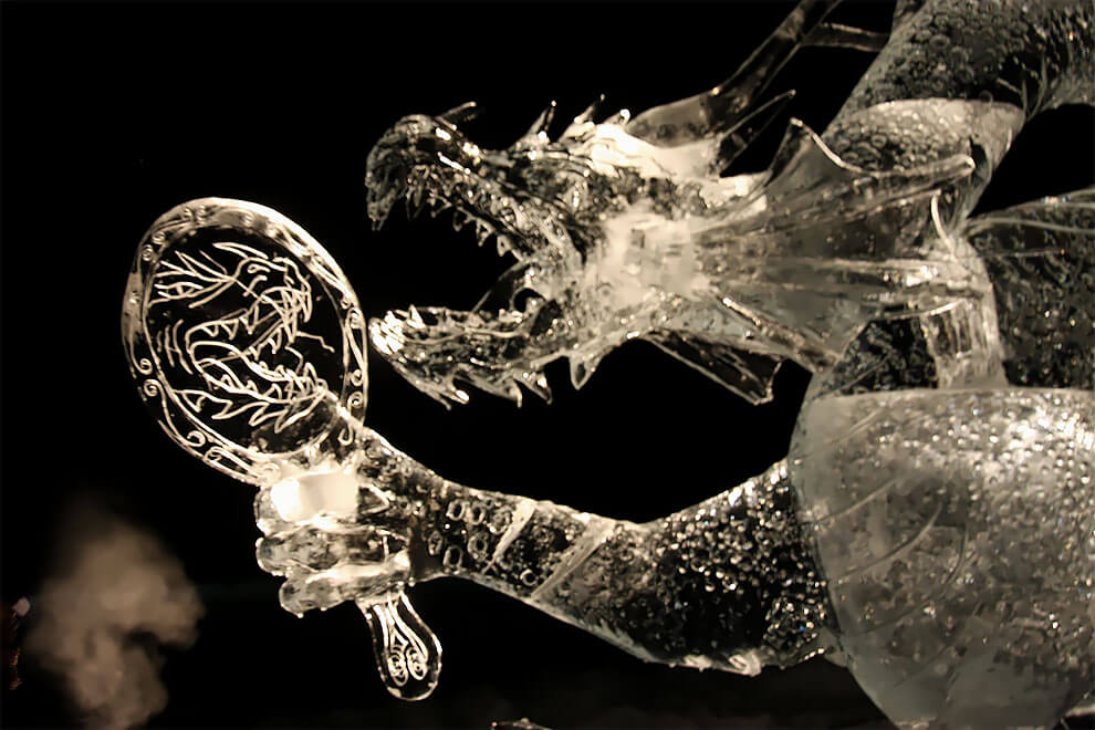 ледяные скульптуры, фото 5