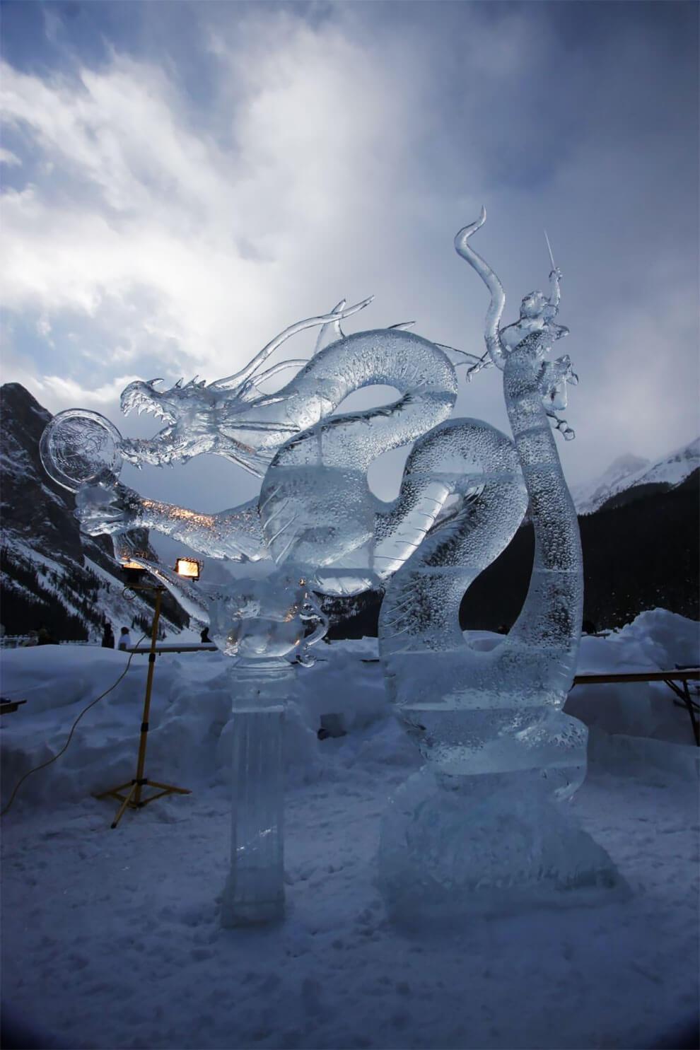 ледяные скульптуры, фото 6
