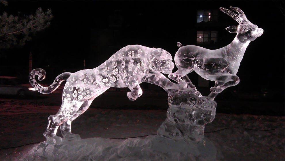 ледяные скульптуры, фото 7